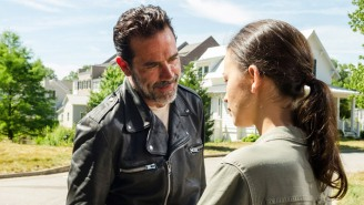 Negan's Transformation On 'The Walking Dead' Is Now Complete, And Maggie Has Made Her Anticipated Return