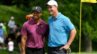 Tiger Woods, Phil Mickelson, Tom Brady, And Peyton Manning To Golf For Charity In May On TNT
