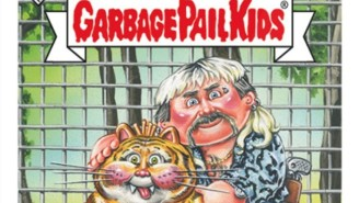 The 'Tiger King' Cast Now Has Its Own Garbage Pail Kids Trading Cards