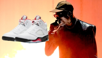 SNX DLX: Featuring The Return Of The Fire Red Jordan 5s Plus Merch From Travis Scott