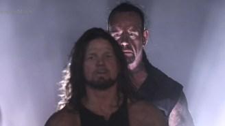 AJ Styles Got Boned By The Undertaker In The Boneyard Match At WrestleMania