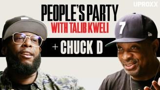 Talib Kweli & Chuck D Talk Public Enemy, Flavor Flav, Tupac, Trump