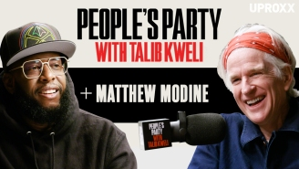 Talib Kweli And Matthew Modine Talk Full Metal Jacket, Stranger Things, Trump