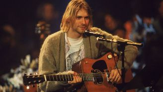 Kurt Cobain's 'Unplugged' Guitar Is Going Up For Auction With A Hefty Price Tag