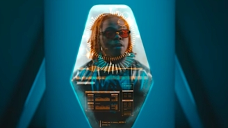 Gunna Takes A Space Journey In His Futuristic 'Rockstar Bikers & Chains' Video