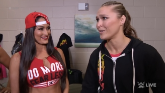 Nikki Bella Calls Ronda Rousey's WWE Debut 'A Bit Of A Slap In The Face'
