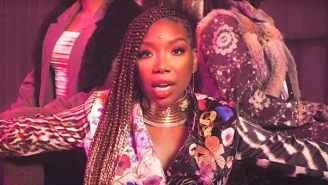 Brandy And Chance The Rapper Shut Down 'Baby Mama' Stereotypes In Their Vibrant Video