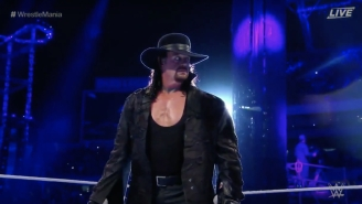 The Undertaker Says He Was 'Disgusted' With His WrestleMania 33 Main Event