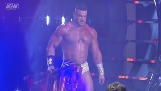Brian Cage Made His Surprise AEW Debut At Double Or Nothing