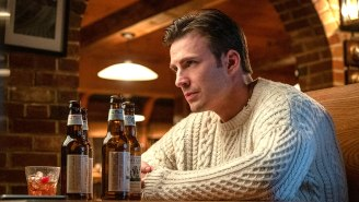 Chris Evans Isn't Sure If Wearing Sweaters 'Works' For Him Anymore