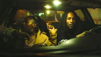 D Smoke, SiR, And Issa Rae Stage A Strip Club Stick Up In Their Reverse-Shot 'Lights On' Video