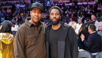 John David Washington, Who's Not At All Biased, Thinks His Dad Denzel Is The 'Best Actor In The Industry'