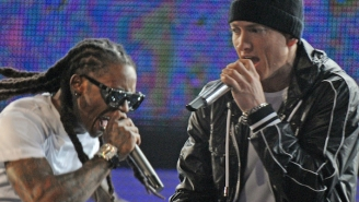 Eminem Will Join Lil Wayne For Some 'GOAT Talk' On 'Young Money Radio'