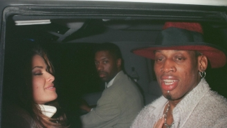 Carmen Electra Remembers The Time Dennis Rodman Drove 'Backward' On The Freeway