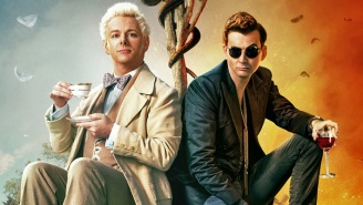 'Good Omens' Stars David Tennant And Michael Sheen Knocked Out A Surprise 'Lockdown' Mini-Episode