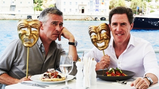Rob Brydon On 'The Trip To Greece' And His Top Five Meals From The Trip Series