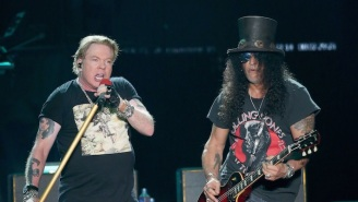 Guns N' Roses Reference Donald Trump's Factory Tour With 'Live N' Let Die' Shirts For Charity