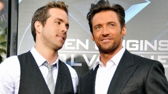 Ryan Reynolds Upped His Fake Beef With Hugh Jackman By Crashing An 'X-Men' Reunion
