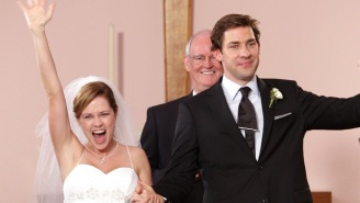 'The Office' Cast Reunited To Recreate Jim And Pam's Wedding Dance For A Very Sweet Reason