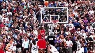 Michael Jordan On Whether He Pushed Off On His Final Bulls Shot: 'Bullsh*t'