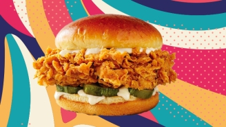 KFC Has Unveiled Its Answer To Popeyes' Famed Chicken Sandwich