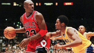 Michael Jordan Once Gave Kobe Advice On His Turnaround Jumper During A Lakers-Bulls Game