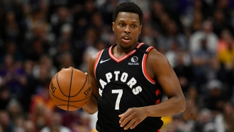 Kyle Lowry Left Game 4 Against The Nets After Rolling His Left Ankle