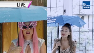 Lady Gaga And Ariana Grande Team Up Again As Weather Girls In A 'Chromatica' Promo