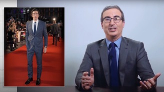 John Oliver Finally Explains His Obsession With 'Brooding Mountain' Adam Driver