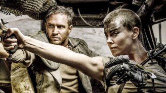 Charlize Theron Is Having A Blast While Posting 'Max Max: Fury Road' Behind-The-Scenes Photos