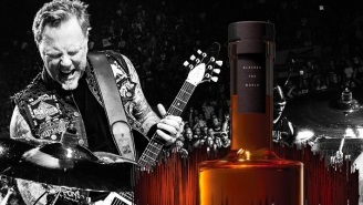 Metallica Has Released Their Latest Sound-Aged Whiskey (Plus The Vinyl It Aged With)