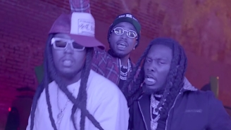 Migos Tease A Quarantine Mixtape With Their Flashy 'Racks 2 Skinny' Video