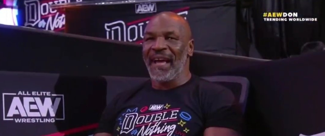 Mike Tyson Almost Fought A Snake At AEW Double Or Nothing