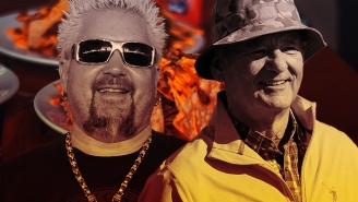 Bill Murray And Guy Fieri Are Competing In A Live 'Nacho-Off' For Charity This Friday