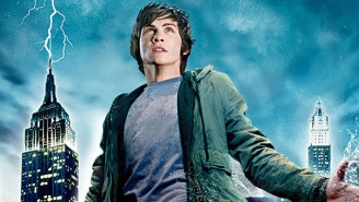 Logan Lerman And 'Percy Jackson' Author Rick Riordan Are Throwing Their Support Behind The Disney+ Series