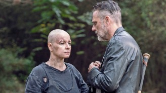 Regrowing Her Hair After 'The Walking Dead' Has Been A Challenge For Samantha Morton