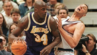 Karl Malone Recalled How Shaq 'F*cked Greg Ostertag Up For The Rest Of His Life'