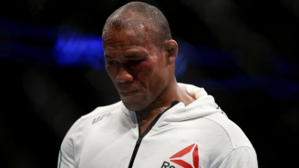 Jacare Souza Was Pulled From UFC 249 After Testing Positive For COVID-19