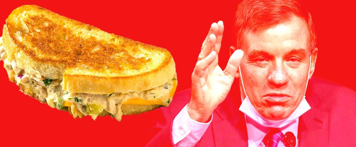 Absolutely Do Not Attempt To Make A Tuna Melt Like Senator Mark Warner