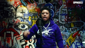 Yella Beezy Bangs Out A Gruff Performance Of 'No Cap' For 'UPROXX Sessions'