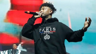 21 Savage Shows Appreciation For His Accomplishments With T.I. On The Grateful 'Thank God'
