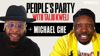 Talib Kweli & Michael Che Talk SNL, Kanye West, Wrestlemania, Top 5 Sketches