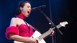 St. Vincent Shares A Clip Of Her Performing 'Stairway To Heaven' As An Ode To Shuttered Guitar Shops