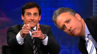 Jon Stewart Jokes About Why He Should Have Fired Steve Carell After His 'The Daily Show' Debut
