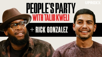 Talib Kweli And Rick Gonzalez Talk Arrow, Coach Carter, Spielberg, Singleton