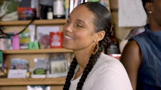 Alicia Keys Premiered A New Song, 'Gramercy Park,' During Her Tiny Desk Concert