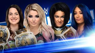 WWE Friday Night Smackdown Open Discussion Thread: Women's Tag Title Match
