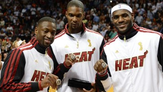Chris Bosh Says He Was Caught Off Guard By The Infamous Big 3 Heat Introduction