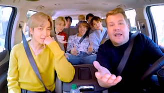 James Corden Honors BTS And Their Fans By Sharing A Bonus 'Carpool Karaoke' Clip