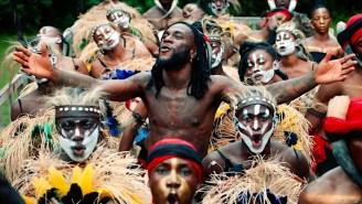 Burna Boy Is A Tribal Warrior In His Joyful 'Wonderful' Video